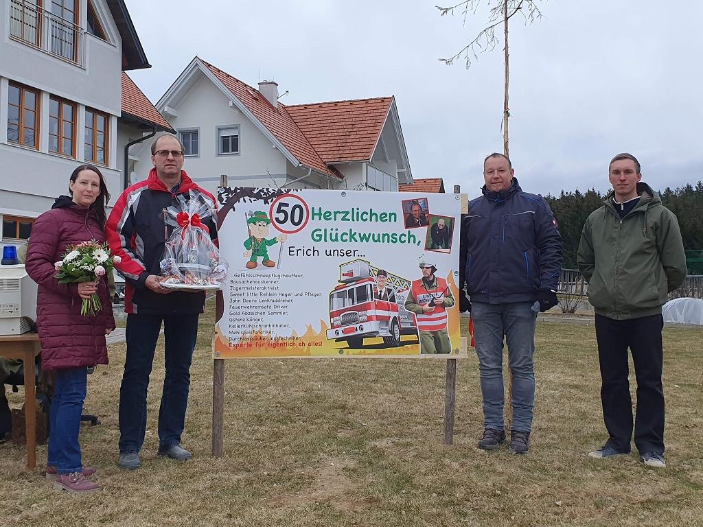 50. Geburtstag von LM Erich Frieß