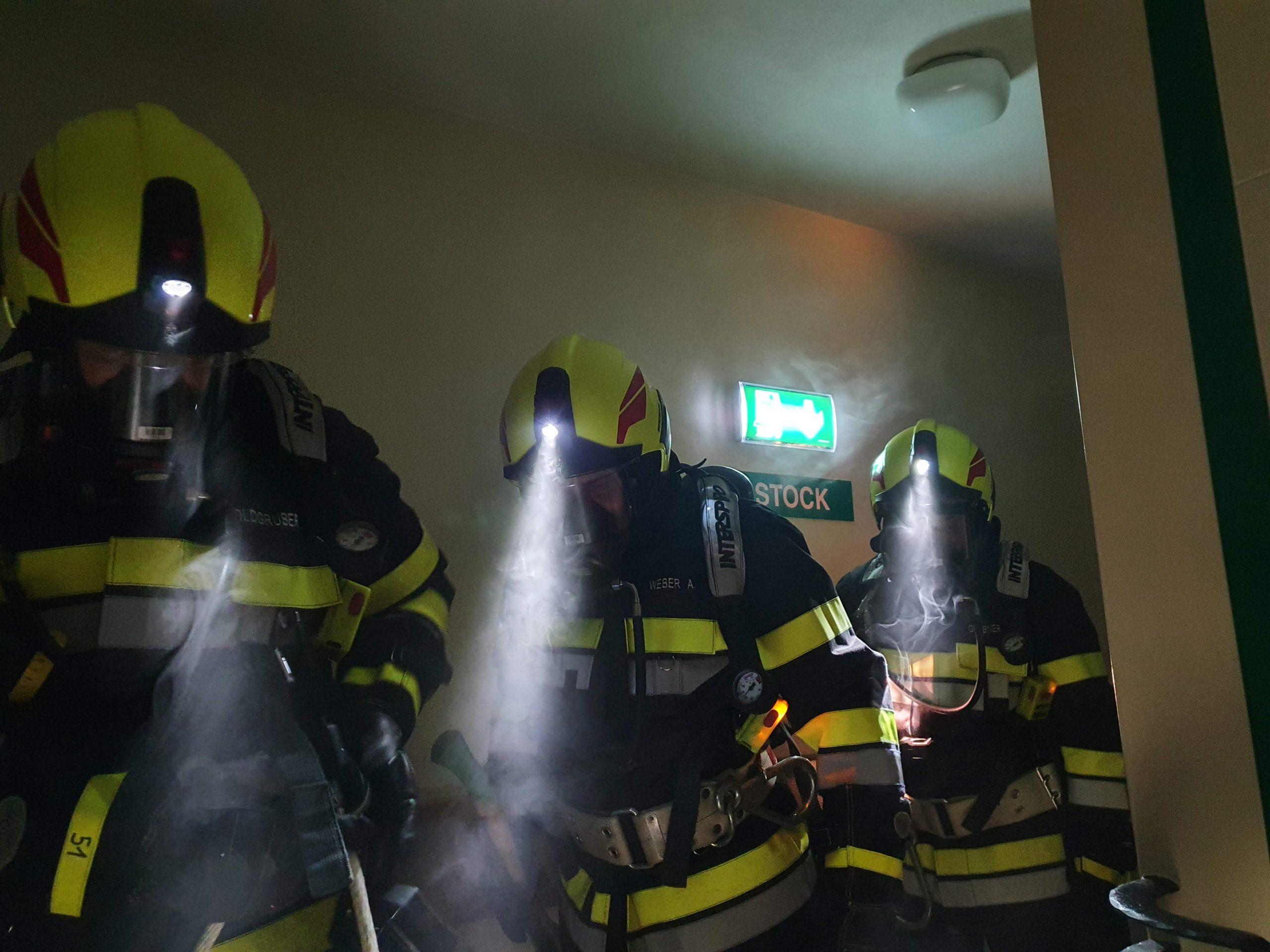 Atemschutzübung GH Wetzelberger